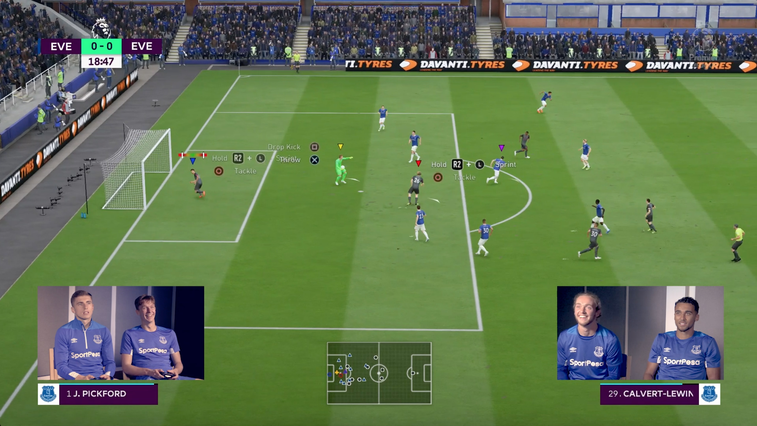 Davanti Highlights Everton Partnership with Video Game FIFA 19