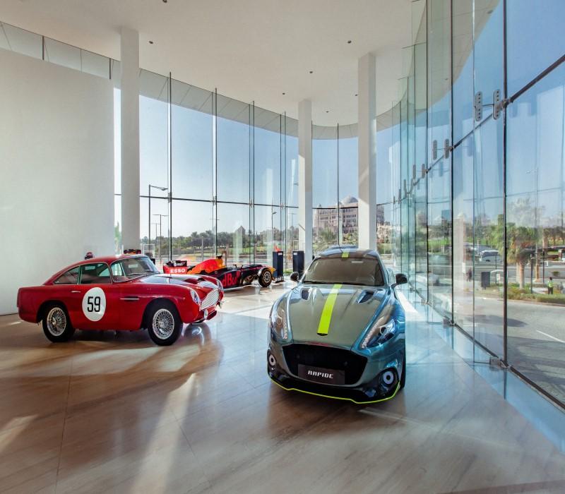 Aston Martin Lagonda Celebrates Opening of Flagship Dealership in Abu Dhabi