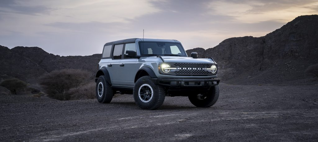Al Tayer Motors Delivers the First Ford Bronco Units in the Middle East