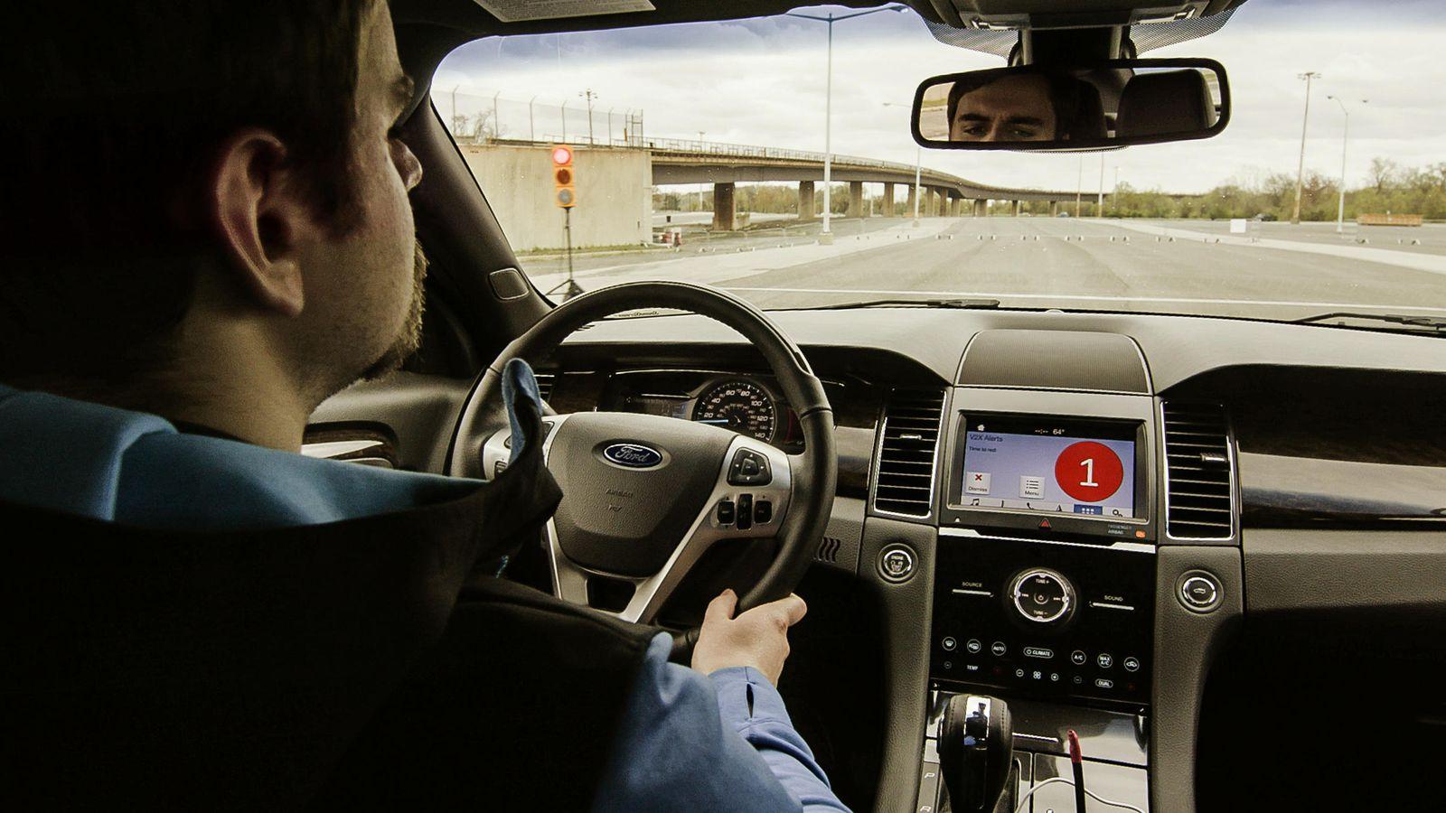 Ford Says C-V2X Technology Could Make Roads Safer