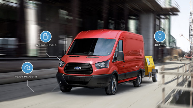 Ford to Launch New Data-monitoring Services for Vehicle Fleets