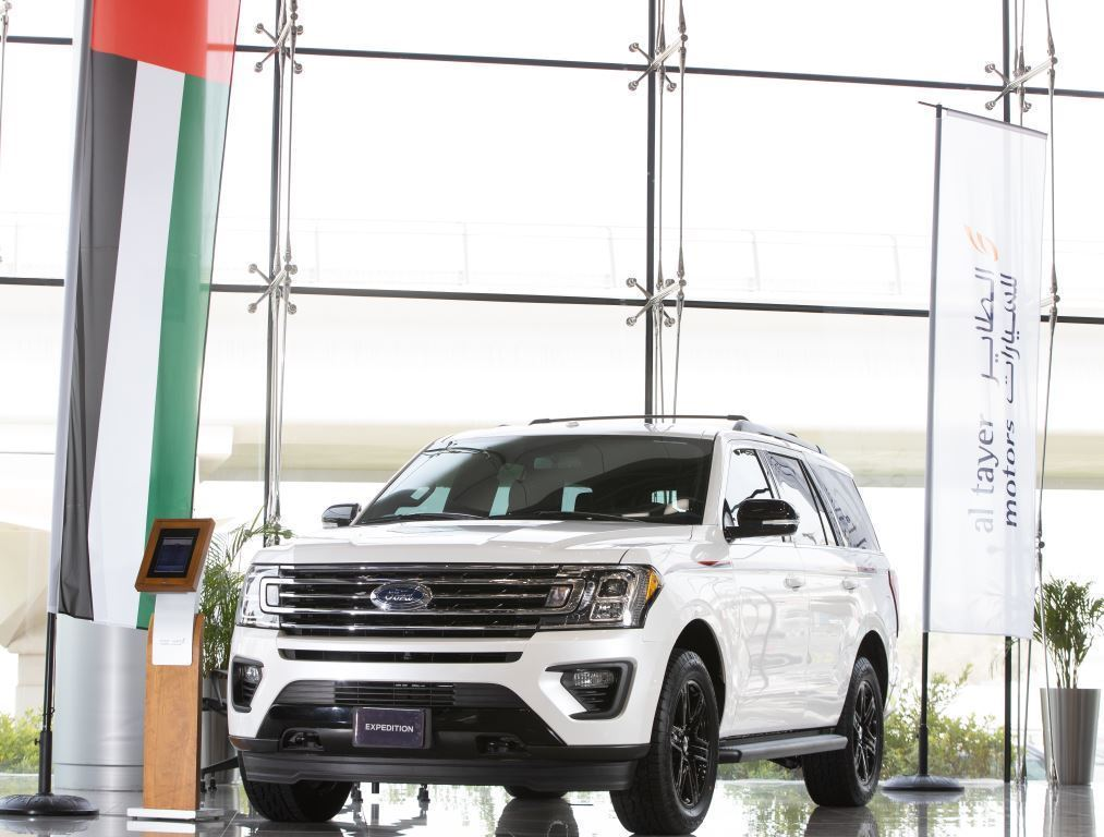 Al Tayer Brings Special Edition 2019 Ford Expedition 'Turath' to the UAE