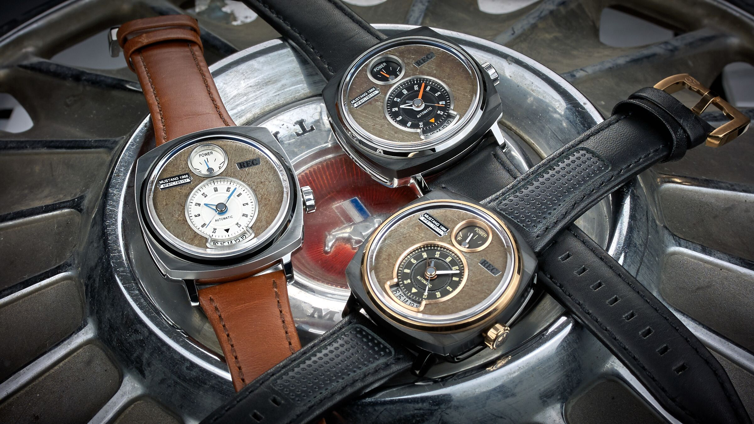 Scrapped Mustangs Get Upcycled as High End Watches