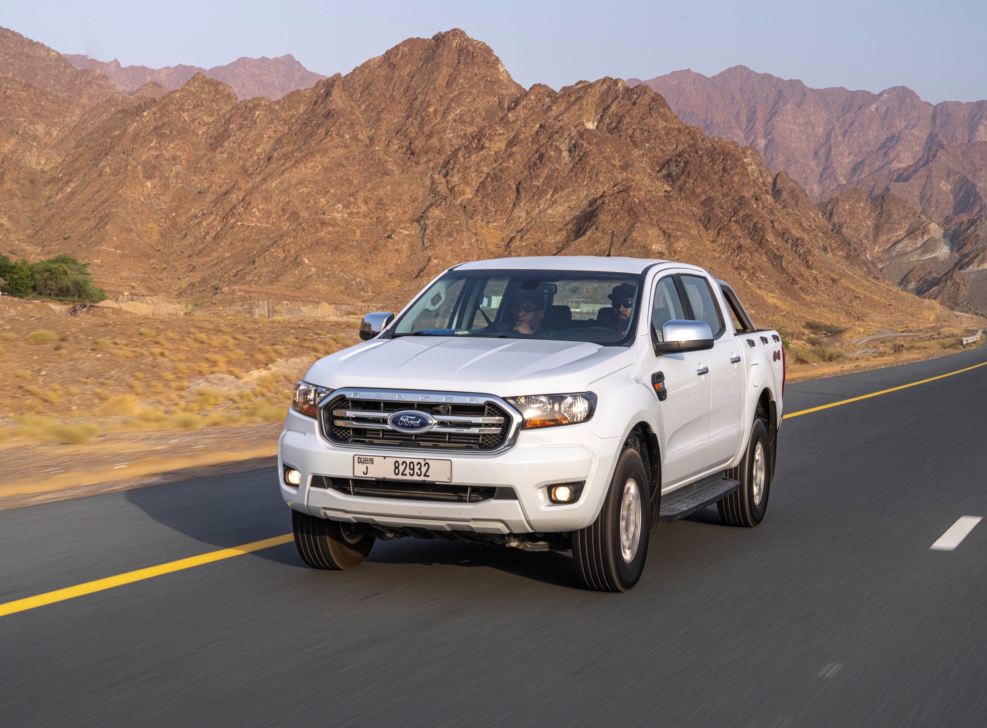 Ford Ranger achieves more than 1,250 km on a single tank of diesel