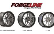 Forgeline Expands Carbon+Forged Wheel Range with Three New Wheel Designs