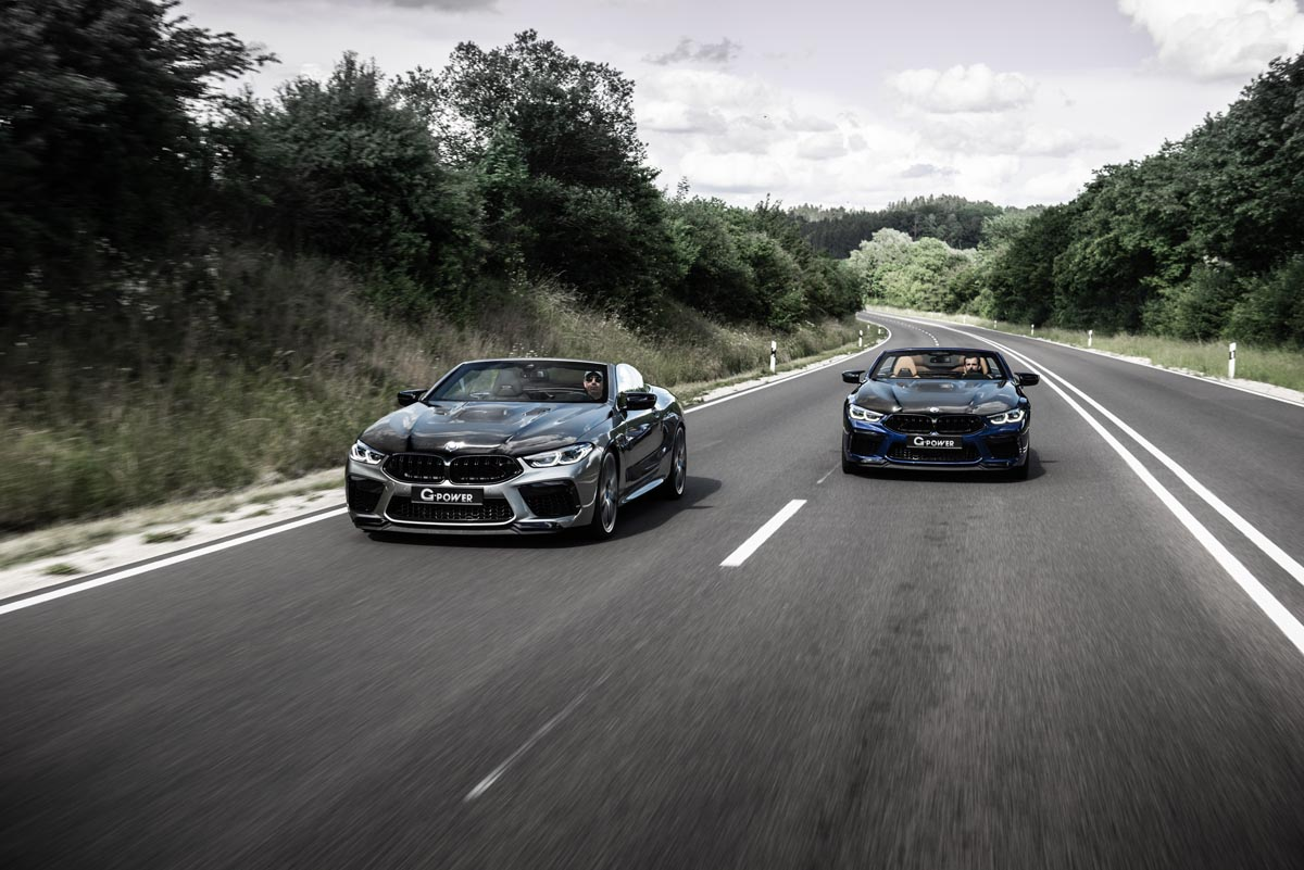 The M8 champions at G-POWER take the M8 to 820 hp