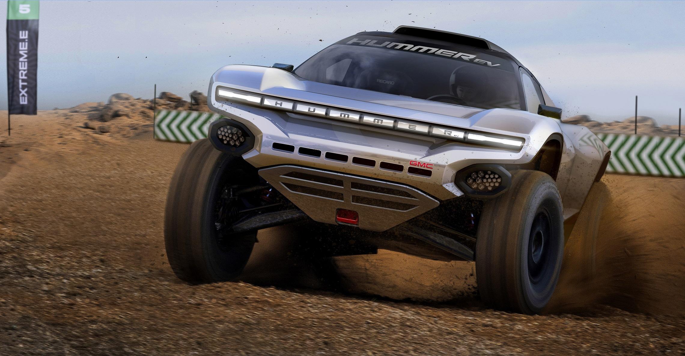 GMC HUMMER EV Teams Up for Off-Road Extreme E Racing Series kick-starting in Saudi Arabia next April