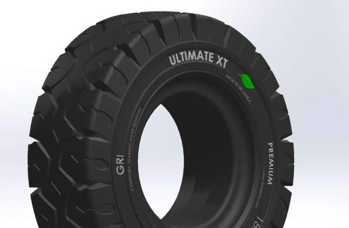GRI Makes Eco-friendly Solid Rubber Tires