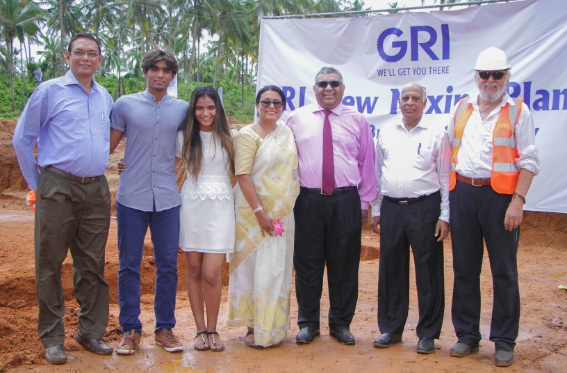 GRI Breaks Ground for New Mixing Plant in Sri Lanka