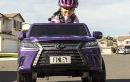 Lexus Promotes Cause of Cerebral Palsy with Toy Version of Convertible SUV
