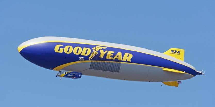 Goodyear Blimp Provides Coverage of Canada Day Celebrations