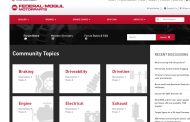 Federal-Mogul Motorparts Launches Free 'Garage Forum' Online Community