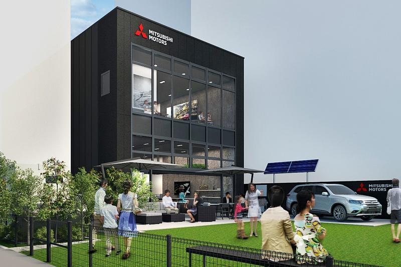 Mitsubishi Motors to Open New Brand Center