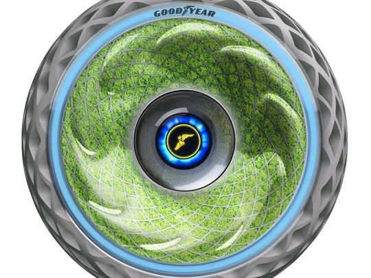 Goodyear Launches Green Tire with a Difference at Geneva Motor Show