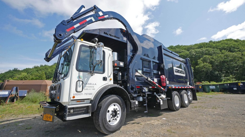 Goodyear Develops Retread for Waste Haul Vehicles