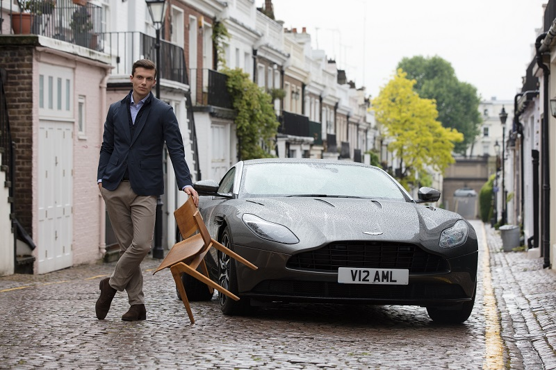 Third Aston Martin Capsule Collection from Hackett