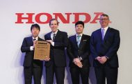 Honda Gives Supplier Awards to Michelin and Hankook