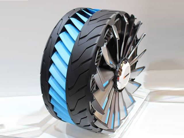 Hankook Develops Transforming Tire that can Change its Shape