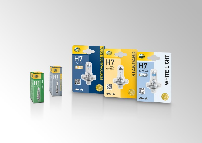 Hella Gives Makeover to Packaging for Bulb Range