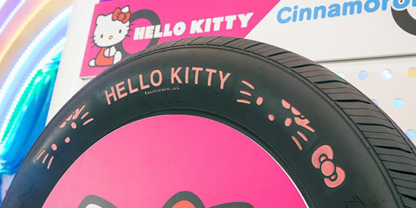 Nexen Tyres Boosts Appeal to Children with Hello Kitty Tyres