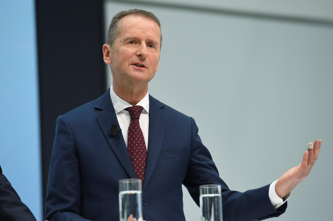 Herbert Diess Named as New CEO of Volkswagen
