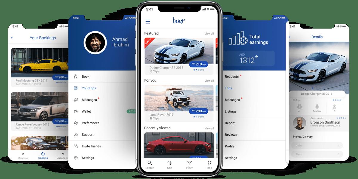 Beno App to Revolutionize Car Rental Process in UAE