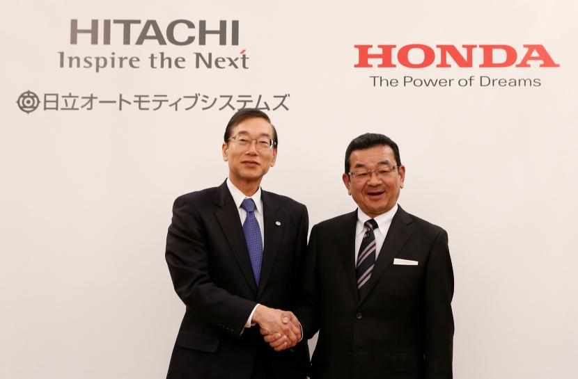 Hitachi to team up with Honda to Make Electric Vehicle Motors in China