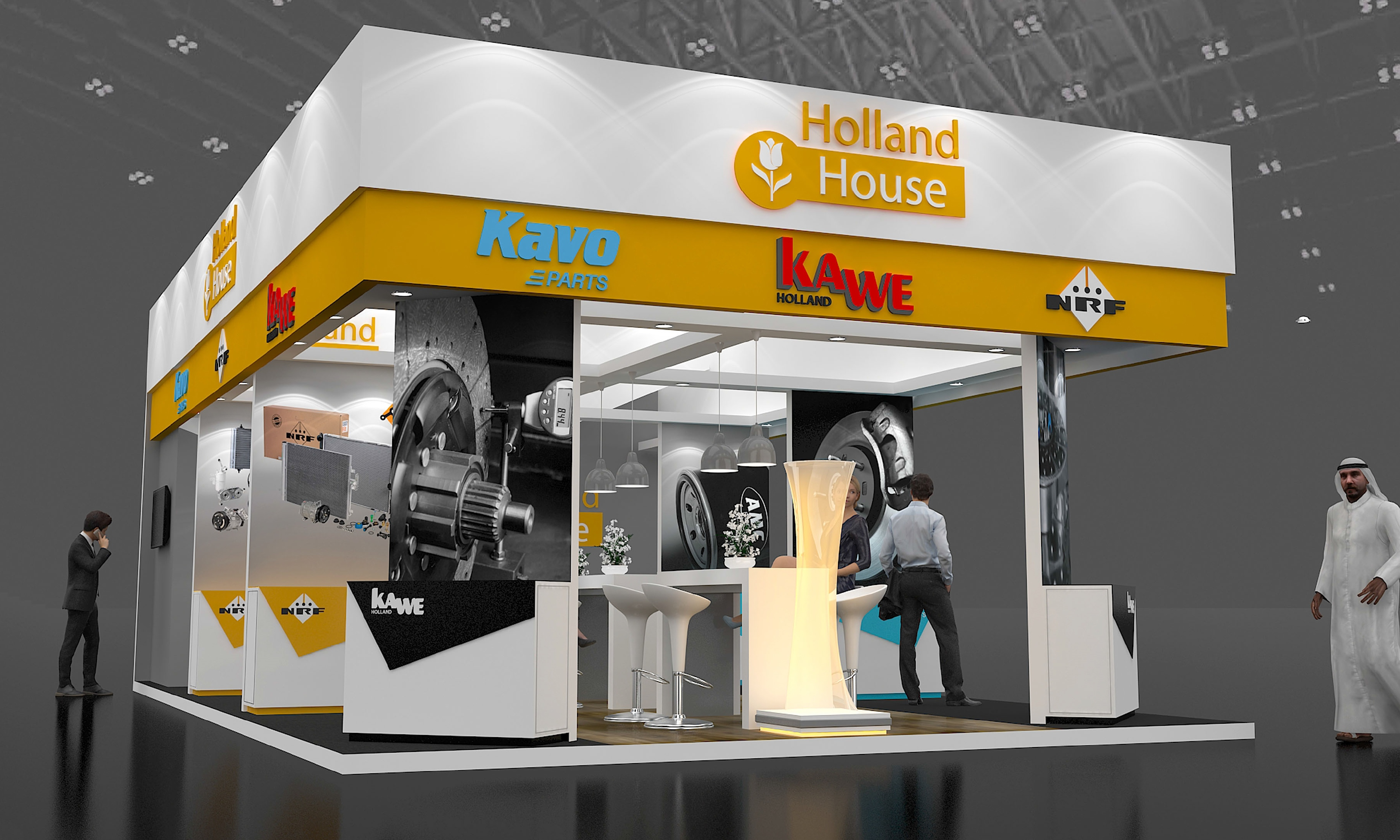 Three leading Dutch Companies to Exhibit Again at Automechanika 2018 with Holland House