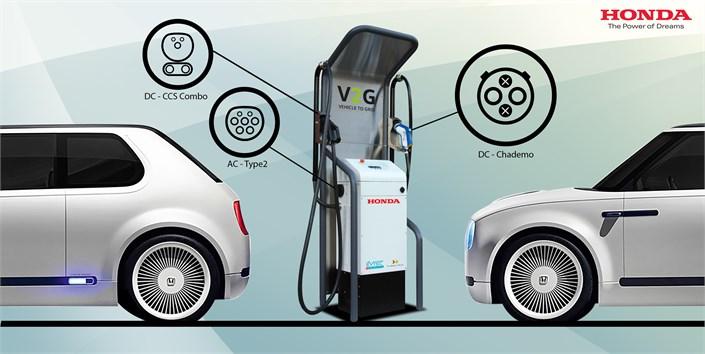 Honda Installs Car to Grid Technology at European R&D Center