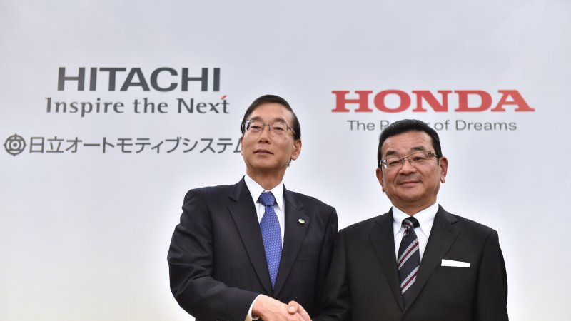 Honda Teams up with Hitachi to Set up Electric Motor Company