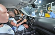 Hyundai Develops First Multi-collision Airbag System