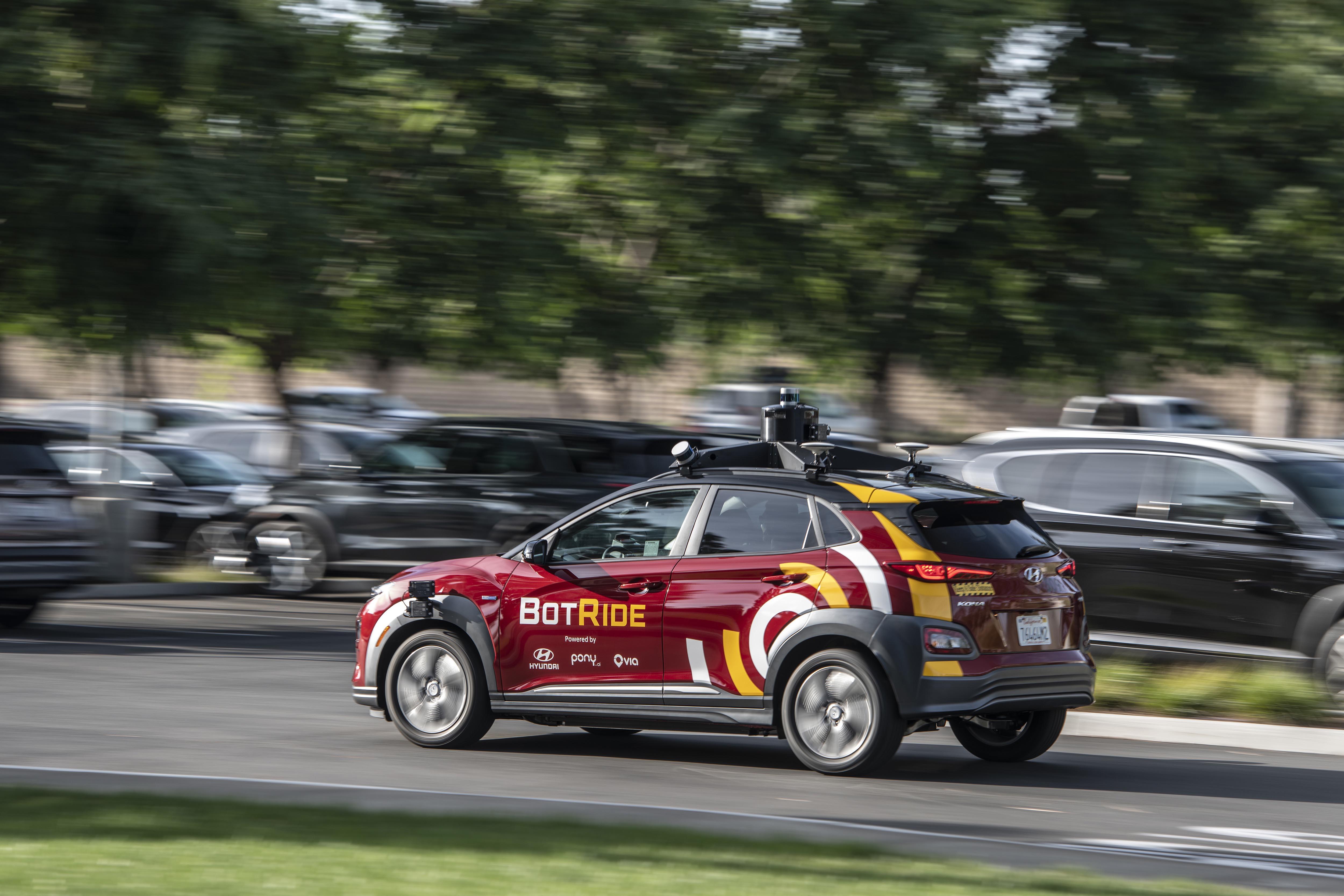 Hyundai Starts Testing Autonomous Cars in California
