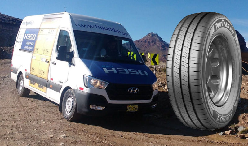 Kumho Makes First 45 Profile 20 Inch Commercial Vehicle Tire in the World