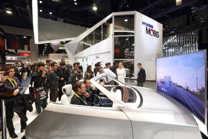 Hyundai Mobis Uses CES to Showcase Self-parking and eco-friendly Automotive Technology
