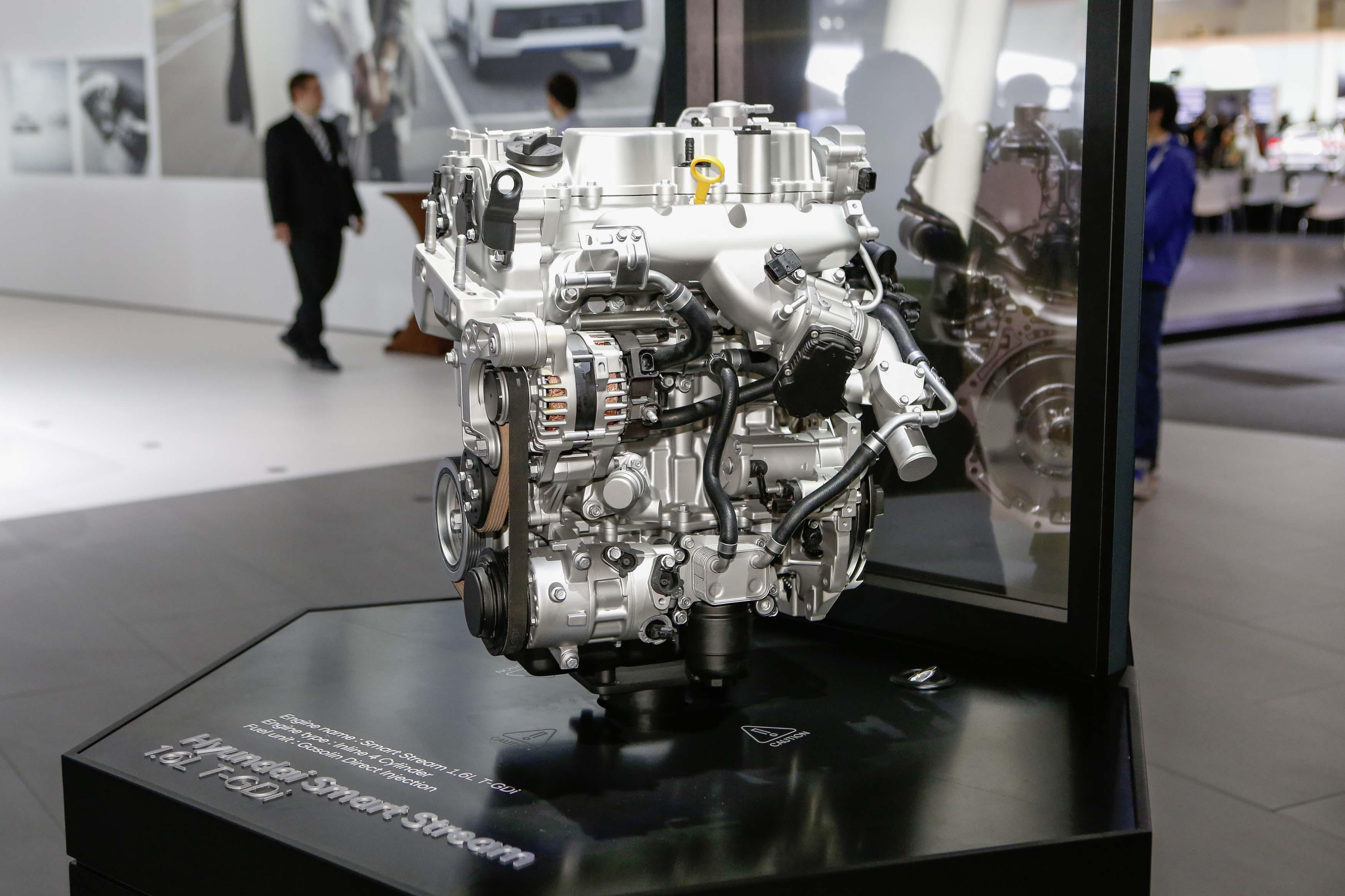 Hyundai Uses Frankfurt Motor Show to Unveil Next-Generation Engine