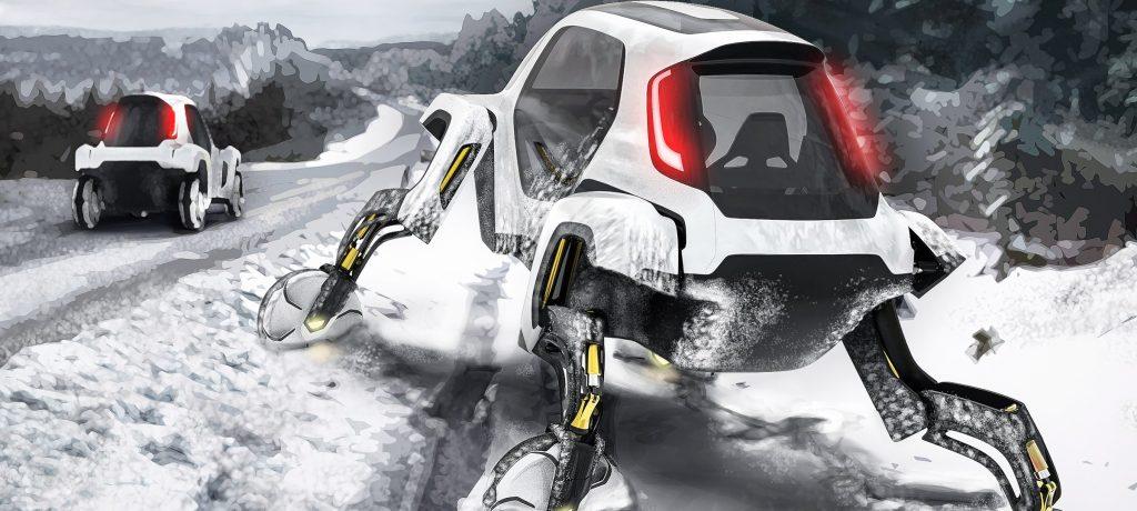 Hyundai Launches Walking Car Concept at CES 2019