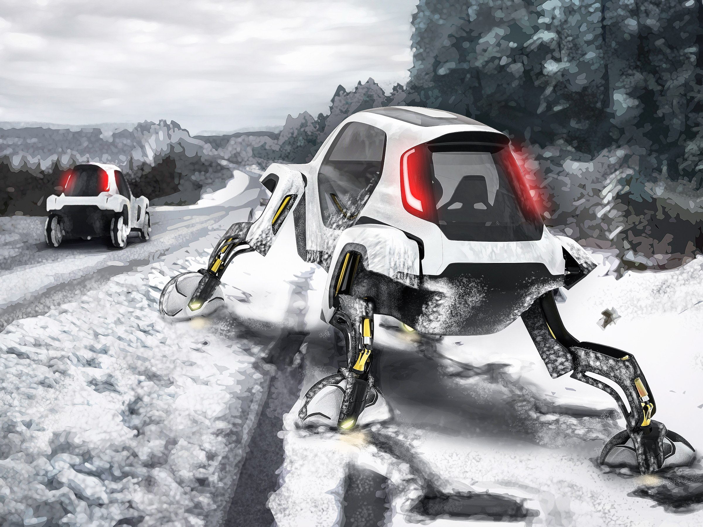 Hyundai Launches Walking Car Concept at CES 2019