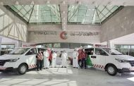 Hyundai donates 24 vehicles to Saudi Red Crescent Authority in Saudi Arabia to help in the fight against COVID-19