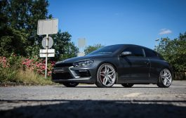 Cor.Speed meets SHD in Herne – Scirocco R with Kharma wheels