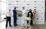 Infiniti middle east continues to support new parents in the uae by donating infant car seats at danat al emarat hospital, abu dhabi