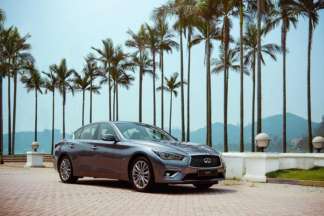 INFINITI Q50 A head-turning luxury sedan to watch