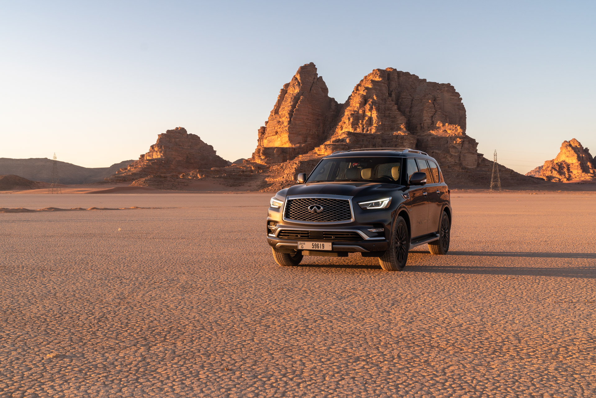 Infiniti Marks 30 Years with Petra Expedition