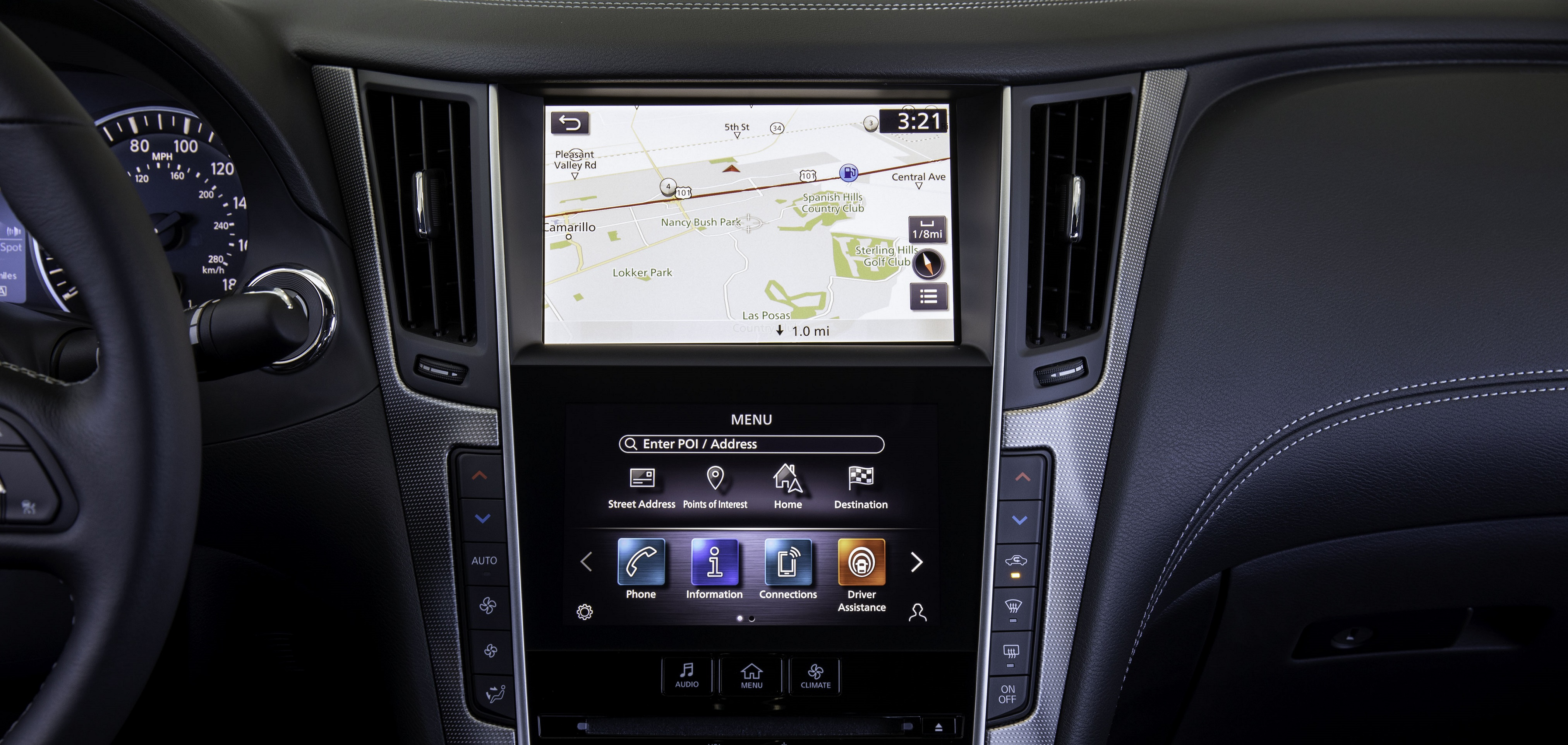 Infiniti Debuts New Infotainment System for Key 2020 Models