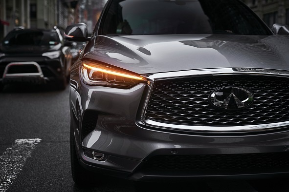 INFINITI QX50 Crafted for irresistible elegance