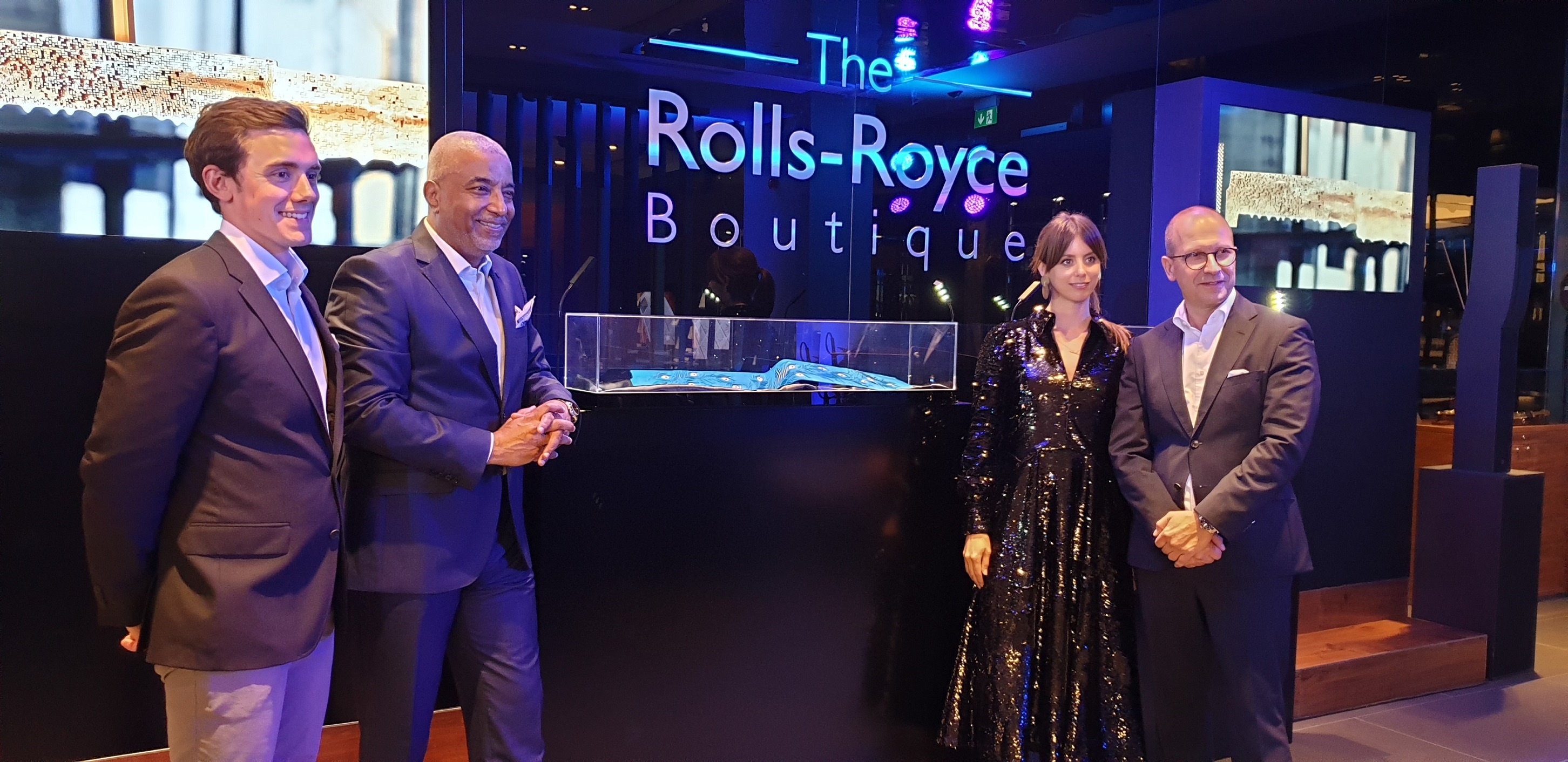 Rolls-Royce Motor Cars Dubai Hosts Renowned Artist to Unveil Unique Gallery Concepts