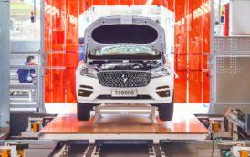 Borgward Marks Milestone Production of 100000 Cars
