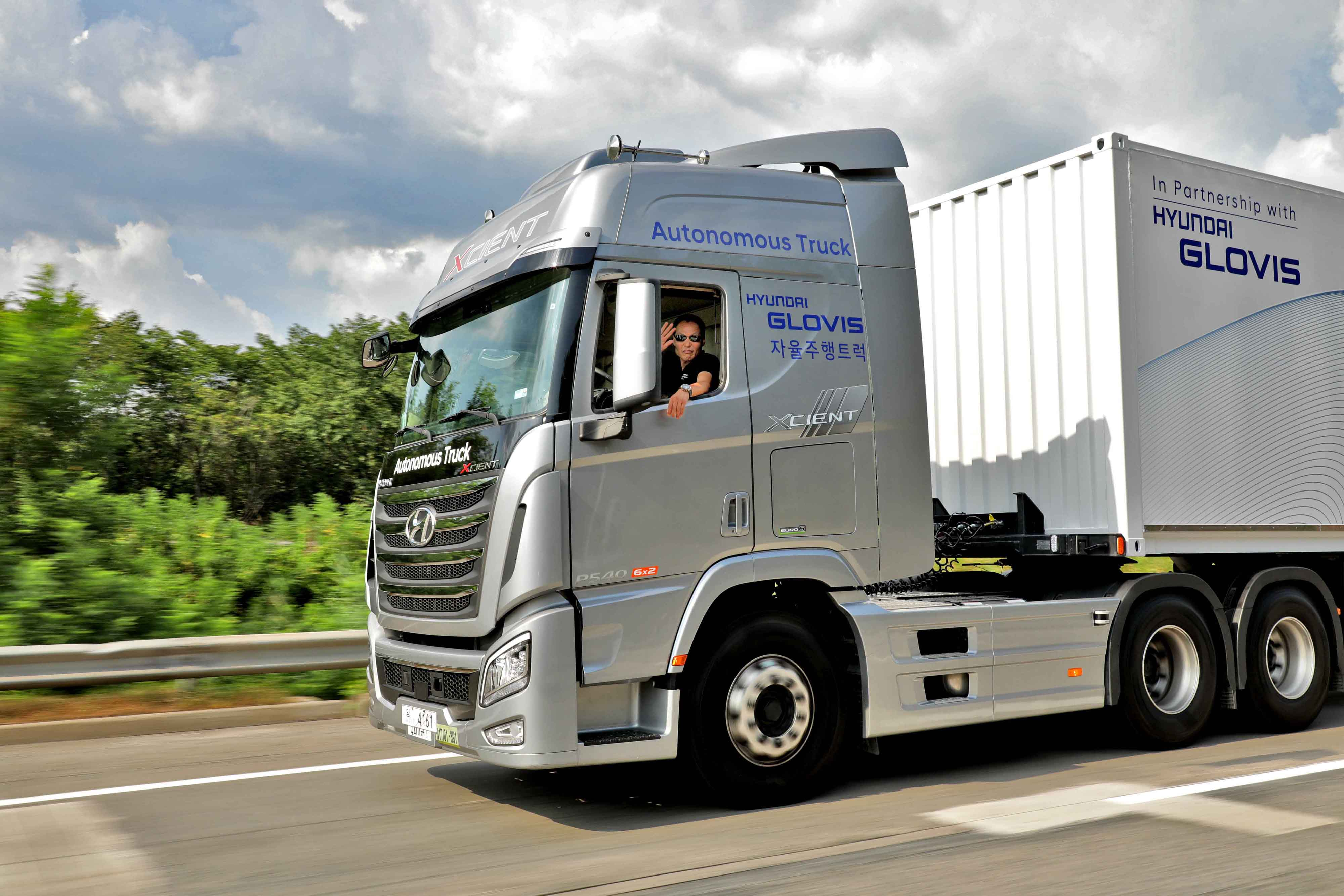 Hyundai Completes First Domestic Autonomous Truck Highway Journey