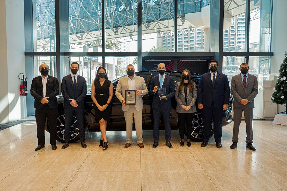 Pegasus Automotive Group recognized for expertise in the industry and dedication to customer service at MEA Business Awards 2020