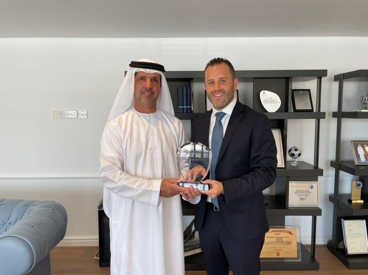 Al Masaood Tyres, Batteries, and Accessories Division wins big at Bridgestone's Toolbox Global Awards 2020