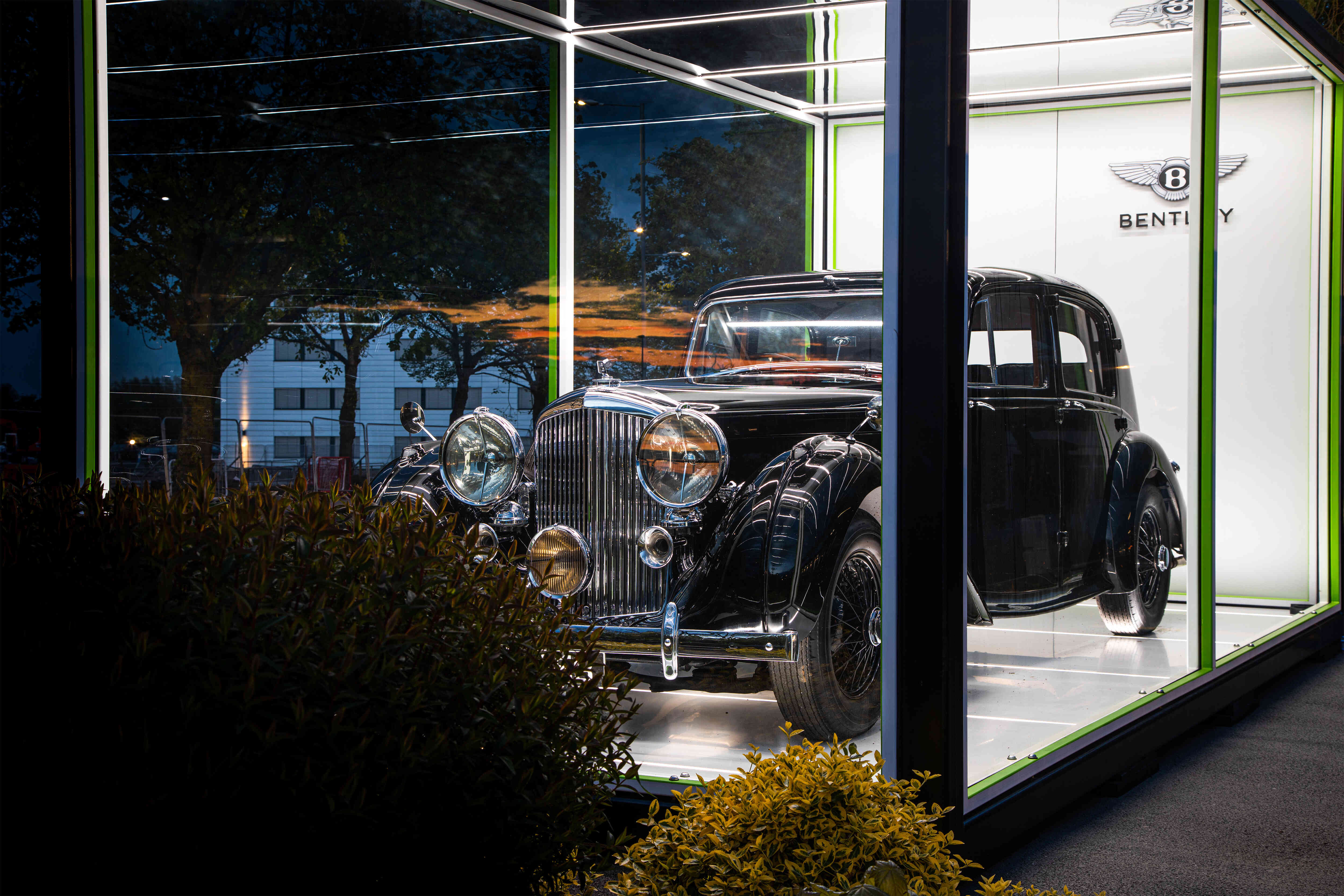 Bentley celebrates 75 years of manufacturing cars in crewe